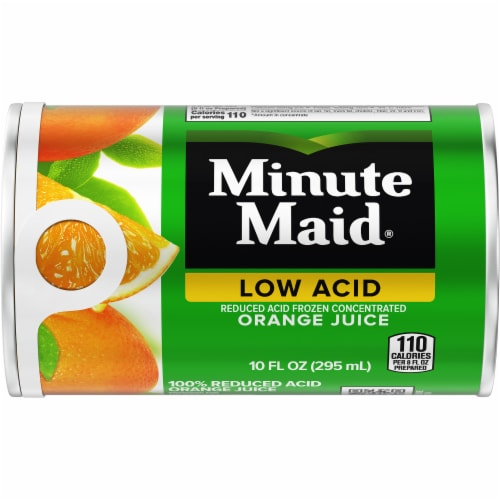 Minute Maid Low Acid Frozen Concentrated Orange Juice Perspective: front