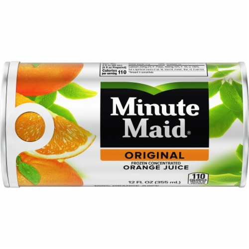 Minute Maid Original Frozen Concentrated Orange Juice Perspective: front