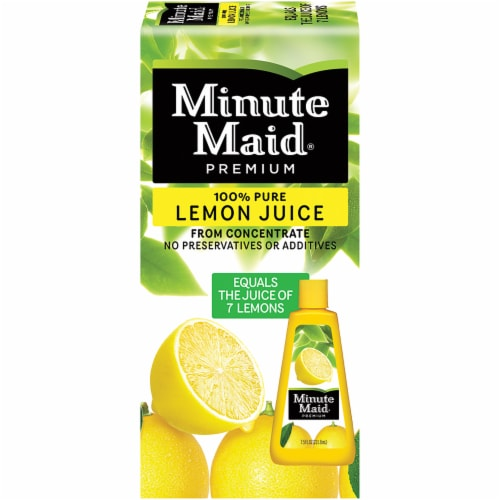Minute Maid Frozen Concentrated 100% Pure Lemon Juice Perspective: front