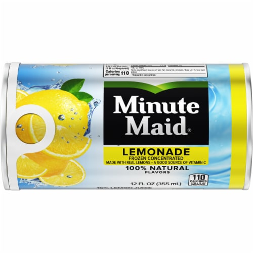 Minute Maid Lemonade Frozen Concentrated Fruit Drink Perspective: front