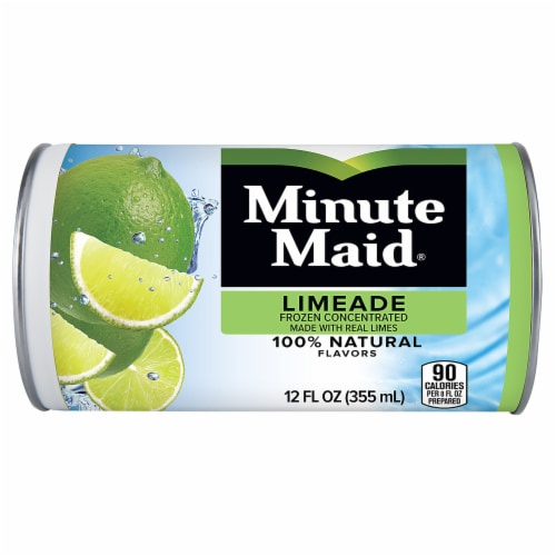 Minute Maid Frozen Concentrated Limeade Fruit Drink Perspective: front
