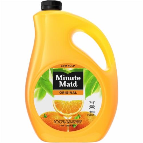 Minute Maid Premium Orange Juice Perspective: front