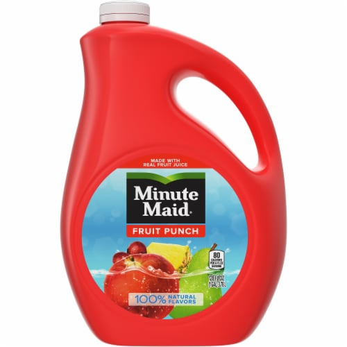 Minute Maid Fruit Punch Fruit Juice Drink Perspective: front