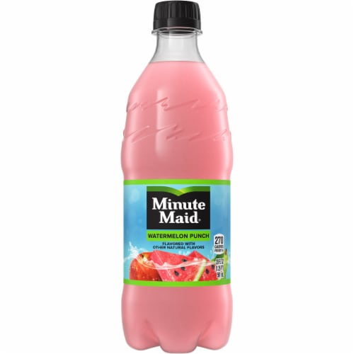 Minute Maid Watermelon Punch Fruit Juice Drink Perspective: front