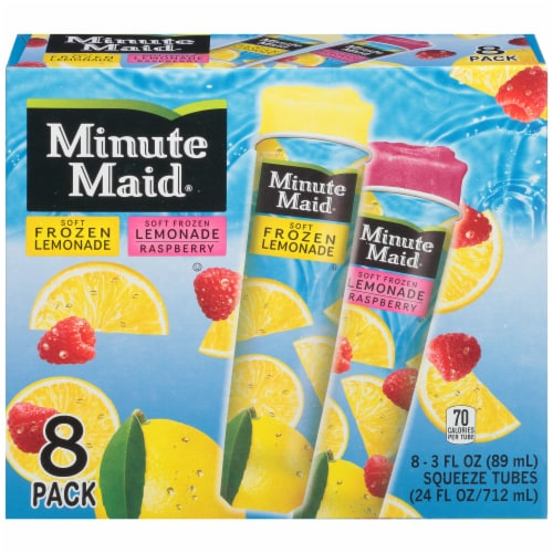 Minute Maid Soft Frozen Lemonade Variety Pack Perspective: front