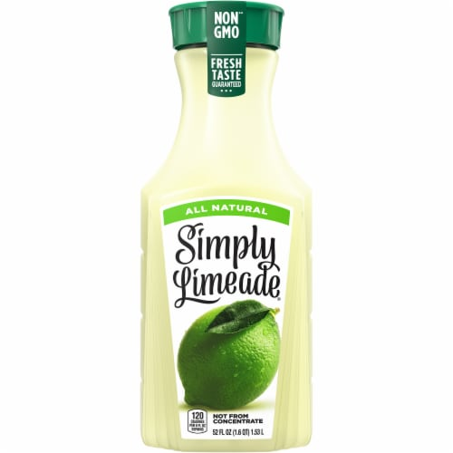 Simply Limeade Fruit Juice Drink Perspective: front