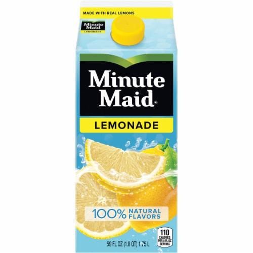 Minute Maid Lemonade Juice Drink Perspective: front