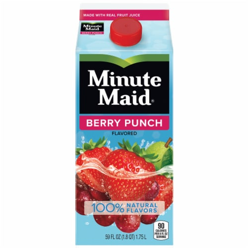 Minute Maid Berry Punch Fruit Juice Drink Perspective: front
