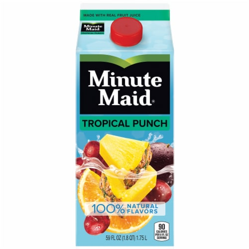 Minute Maid Tropical Punch Fruit Juice Drink Perspective: front