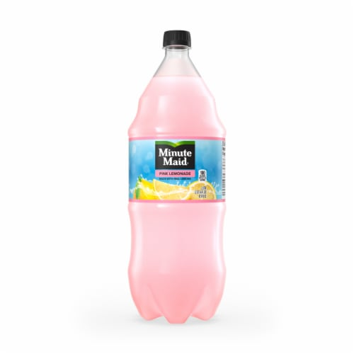 Minute Maid Pink Lemonade Perspective: front