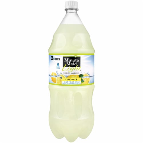 Minute Maid Light Lemonade Perspective: Front