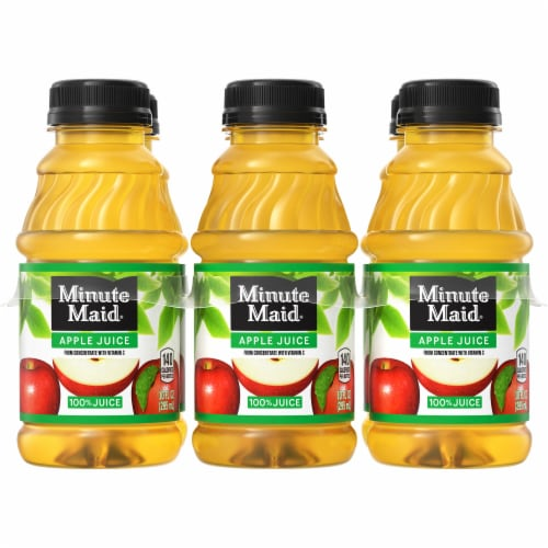 Minute Maid Apple Juice Perspective: front