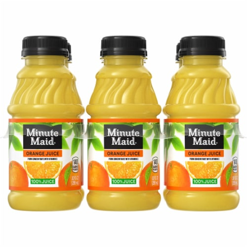 Minute Maid 100% Orange Juice Perspective: front