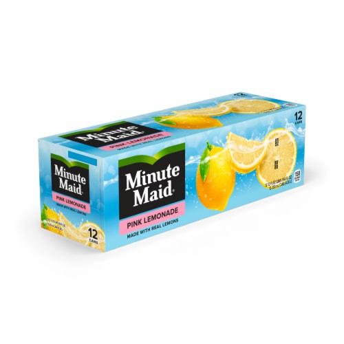 Minute Maid Pink Lemonade Fruit Juice Drink Fridge Pack Perspective: front