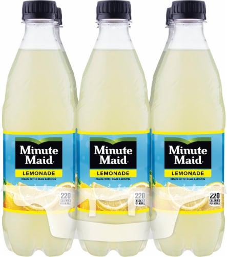 Minute Maid Lemonade Fruit Juice Drink Perspective: front