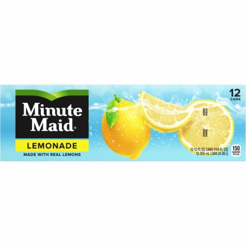 Minute Maid Lemonade Fruit Juice Drink Fridge Pack Perspective: front