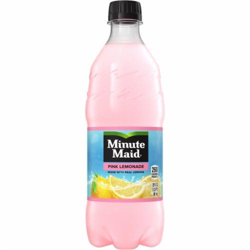 Minute Maid Pink Lemonade Fruit Juice Drink Perspective: front