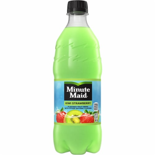 Minute Maid Kiwi Strawberry Fruit Juice Drink Perspective: front