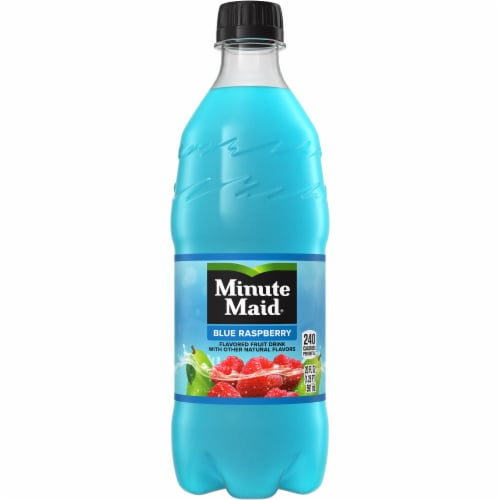 Minute Maid Blue Raspberry Fruit Juice Drink Perspective: front