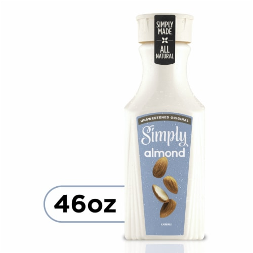 Simply Original Unsweetened Almond Milk Perspective: front