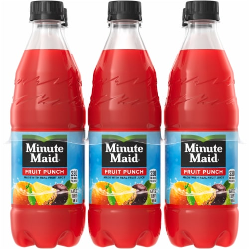 Minute Maid Fruit Punch Perspective: front