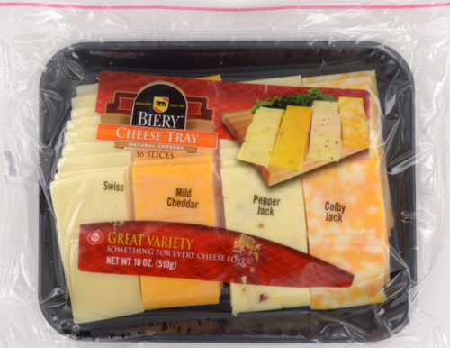 Jay C Food Stores - Biery Variety Cheese Tray, 18 oz