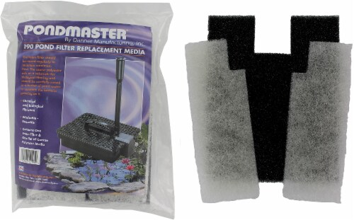 Pondmaster Coarse Foam Pad Replacement Filter Perspective: front