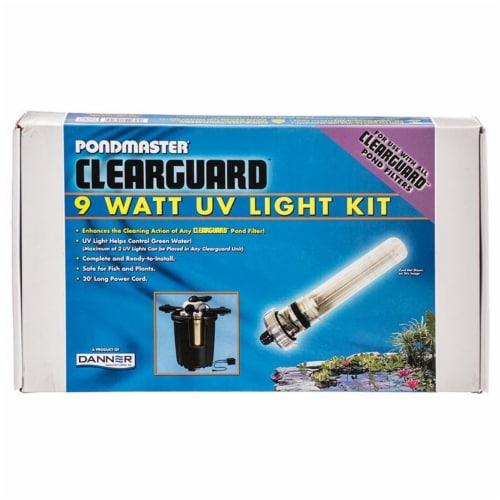 Pondmaster 15810 9W UV Clearguard Filter UV Light Conversion Kit Perspective: front