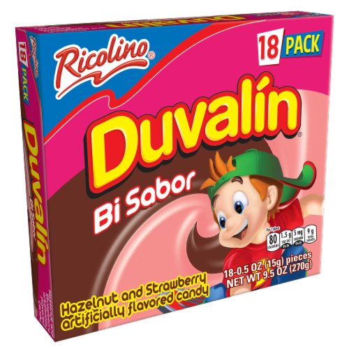 Duvalin Strawberry and Hazelnut Candy Perspective: front