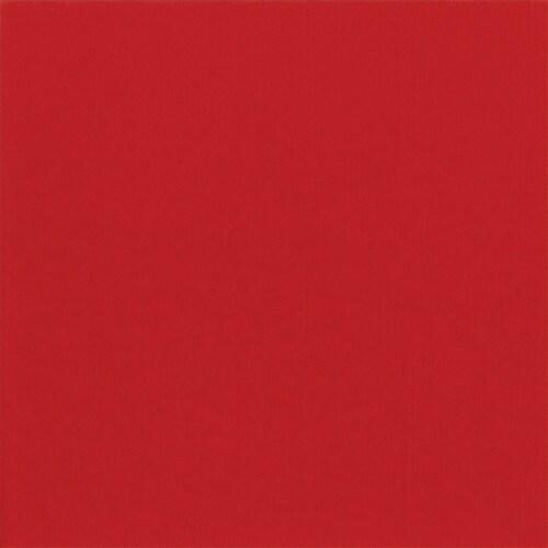 Caspari Red Paper Linen Cocktail Napkins Perspective: front