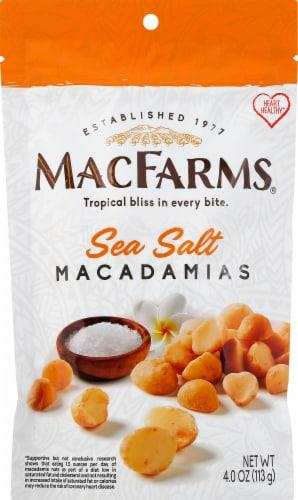 MacFarms Sea Salt Macadamias Perspective: front