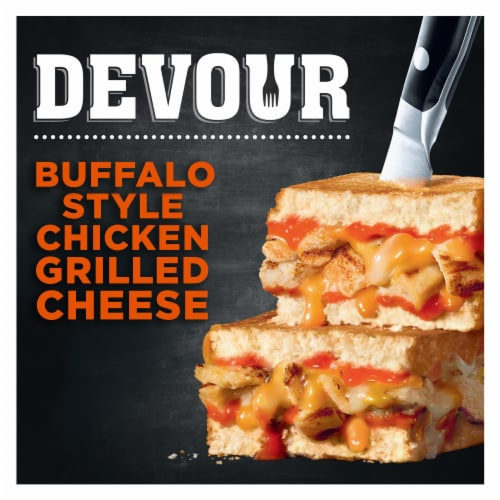 Devour Buffalo Chicken Grilled Cheese Perspective: front