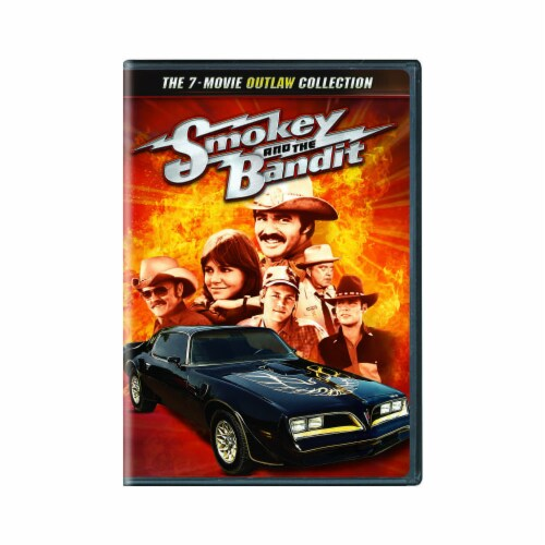Smokey and the Bandit: 7-Movie Outlaw Collection (DVD) Perspective: front