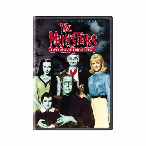 The Munsters: Two Movie Fright Fest (DVD) Perspective: front