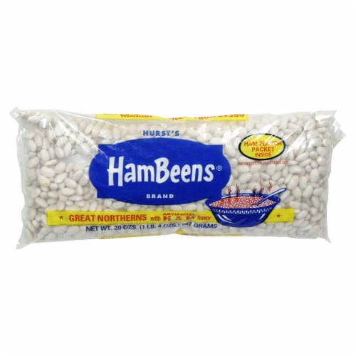 HamBeens Great Northern Beans Perspective: front
