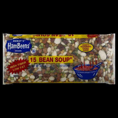 Hurst's Hambeens Regular 15 Bean Soup Perspective: front