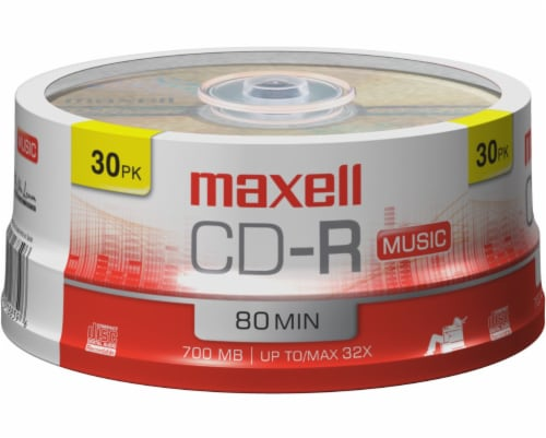 Maxell CD-R Music Discs Perspective: front