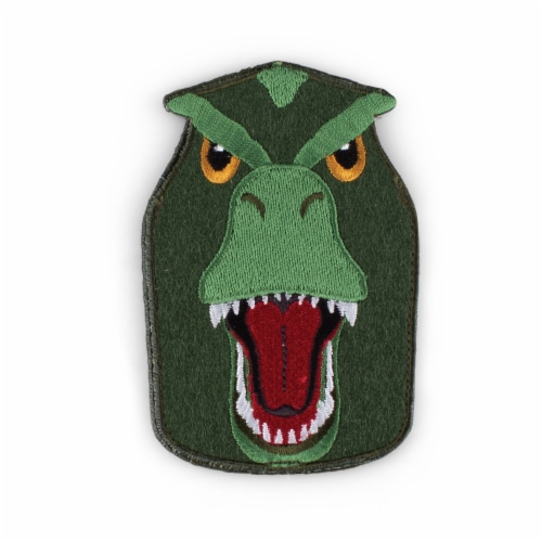 T Rex Shaped Stick-On Phone Wallet Perspective: front