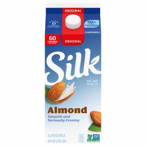 Silk Original Almondmilk Perspective: front
