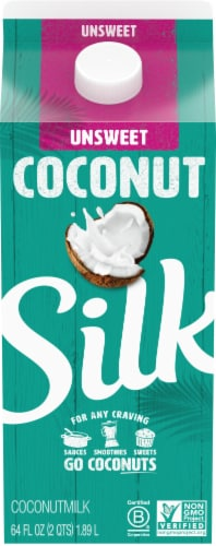 Silk Unsweet Coconutmilk Perspective: front