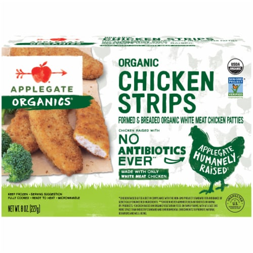 Applegate Organic Chicken Strips Perspective: front