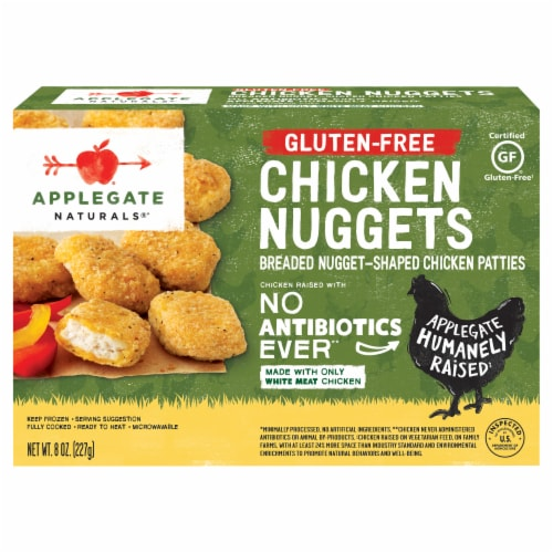 Applegate Natural Gluten-Free Chicken Nuggets Perspective: front