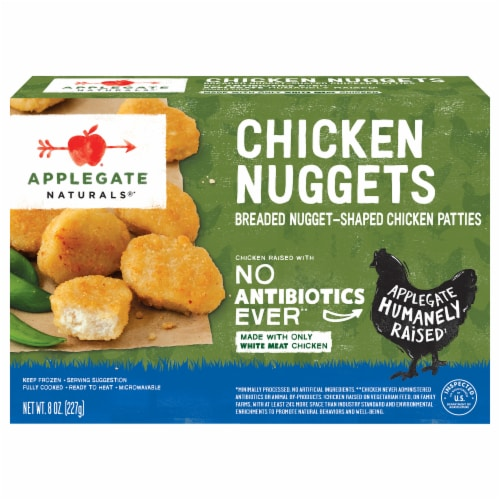 Applegate Naturals Chicken Nuggets Perspective: front