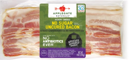Applegate Naturals No Sugar Uncured Bacon Perspective: front