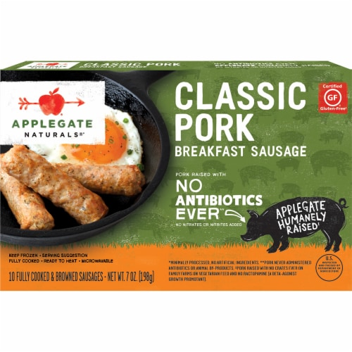 Applegate Natural Classic Pork Breakfast Sausage Perspective: front