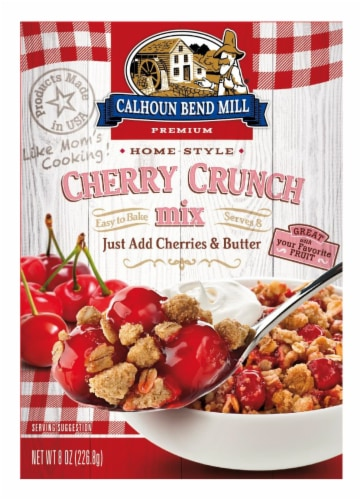 Calhoun Bend Mill Cherry Crunch Mix Perspective: front