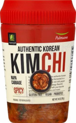 Nasoya Kimchi Spicy Vegan Napa Cabbage Perspective: front