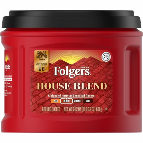 Folgers House Blend Ground Coffee Perspective: front