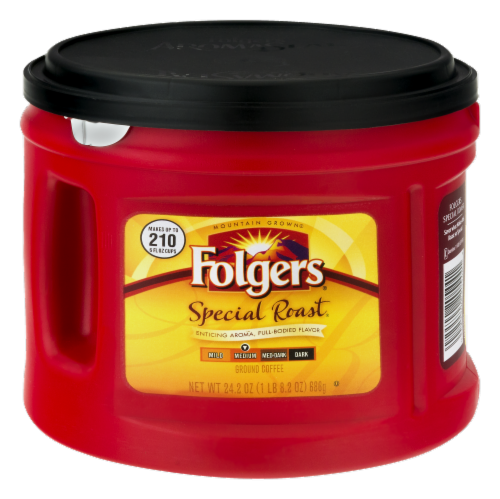 Folgers Special Roast Medium Ground Coffee Perspective: front
