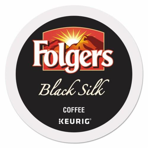Keurig Folgers Black Silk Coffee K-Cups 24 pk - Case Of: 1; Perspective: front